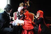 椿のコスプレファッションショー