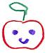 りんごの絵文字がすごい好き