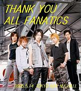 THANK YOU ALL FANATICS!!