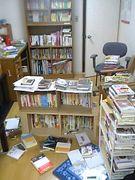 部屋が図書館