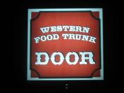 WESTERN FOOD TRUNK DOOR
