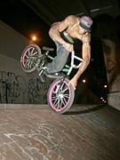 BMX 黒人ライダー