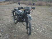 偵察バイク XLR250(MD20)