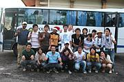 国際武道大学の学生バリ島交流会