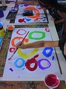 子ども絵画2才半、3、4、5才