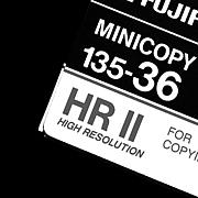 MINICOPY FILM / HR II