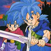 ドラクエ5 青髪の双子好き。
