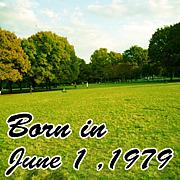 1979年6月1日生まれ!