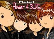 flower 4 BLUE