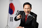 韓国の大統領 李明博