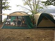 カップルでキャンプ!