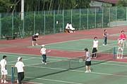 テニスの技術交流会