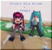 Project Diva Arcade × Pangya