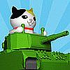 ねこ戦車 整備場