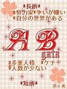 1989年2月2日×AB型