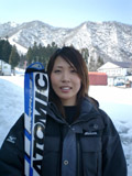 スキーヤー 長谷川絵美