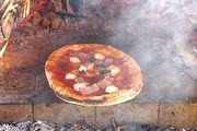 自家製ピザ ピザ窯