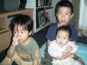 三人の子持ちママ!