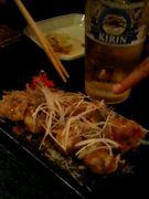 楽の蛸の日本風揚げが好きな人。