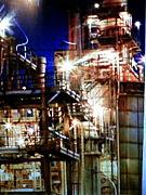 工場、製鉄所が好きっ