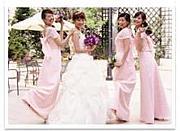 *ブライズメイドと結婚式*