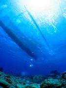 ボラカイ島でダイビング