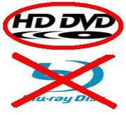 HD DVD ((◎ >ブルーレイ b)