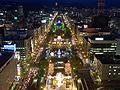 ☆。・*:'夜会*。:*☆札幌の夜に
