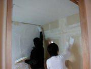 ●自分の家は自分で壁塗り大会!