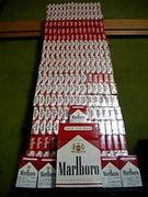 タバコの箱を集める!