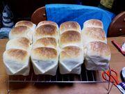 牛乳パックでお手軽パン作り