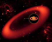 土星で太陽系最大の輪(リング)
