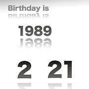 1989年2月21日生まれ