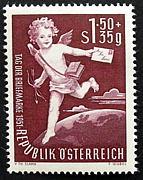 世界の絵葉書と切手