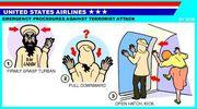 アメリカの空港、航空会社