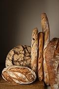 フランスのパン&お菓子屋で働く