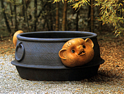 陶器風呂、壺湯がすき