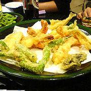 屋形船で天ぷらをたべようー!