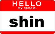 nickname is shin