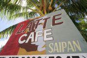 Latte cafe SAIPAN