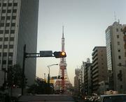 遊歩者の街景