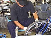 被災地に自転車技術者を