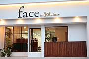 face by dot.-hair-