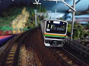 JR東海道線をNゲージで楽しむ
