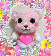 ピンクなクマさん♡