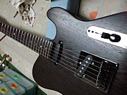 Barracuda guitar design