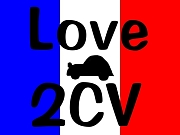 LOVE  2CV♪