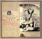 : Sleepytime Gorilla Museum :