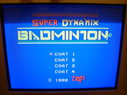 SUPER DYNA'MIX BADMINTON
