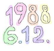 1988年6月12日生まれ